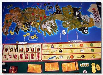 A Game Of Thrones - board