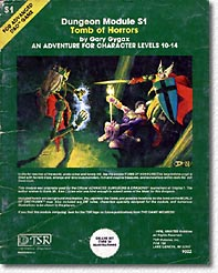 Tomb of Horrors cover