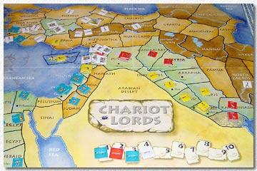 Chariot Lords board