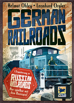 German Railroads cover