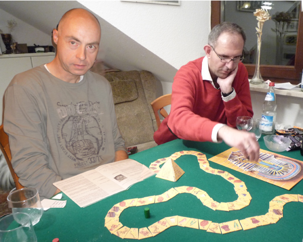 Michael und Peter beim Tutanchamun